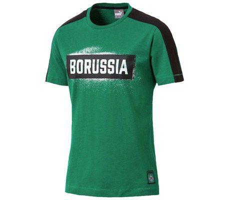 Puma Borussia Mönchengladbach T7 Stencil T Shirt für 9,99€ (statt 21€)   S, M, L
