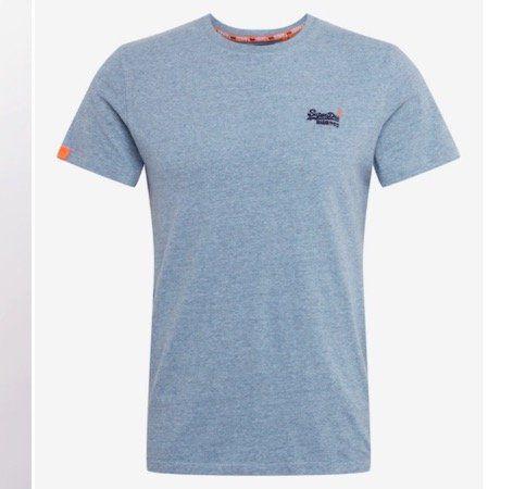 Vorbei! Superdry T Shirt in Hellblau für 18,83€ (statt 27€)