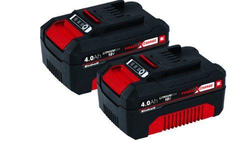 Einhell PXC Akku Twinpack mit jeweils 4,0Ah für 65,94€ (statt 98€)