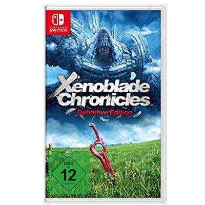 Ausverkauft! Xenoblade Chronicles Definitive Edition für Nintendo Switch für 34,57€ (statt 59€)