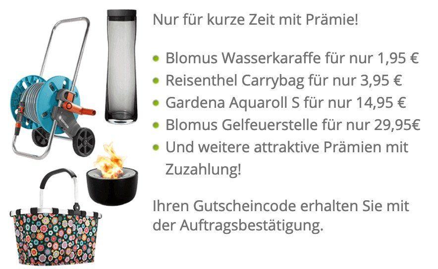 Klarmobil Trick mit z.B. Gardena Aquaroll S für 18,85€ (statt 45€)   auch andere Prämien (bitte genau lesen!)