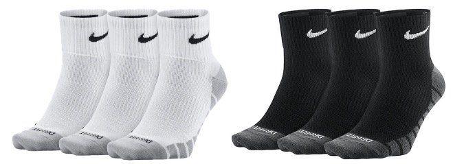 12x Nike Socken Lightweight Quarter Style in Weiß oder Schwarz für 27,95€ (statt 40€)