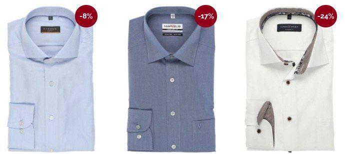 Hemden.de Summer Sale (Olymp, eterna uvm.) + 17% Gutschein + keine VSK ab 30€