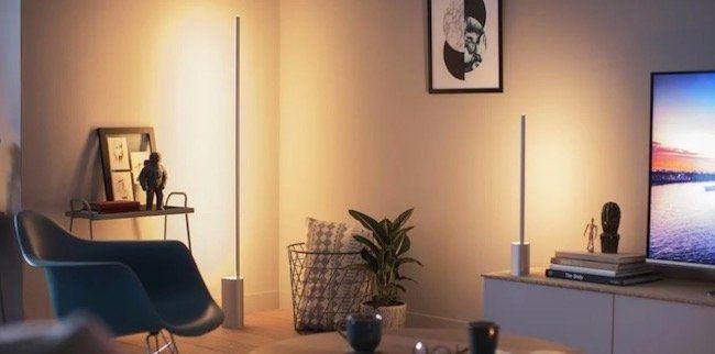 2er Pack Philips Hue Signe White & Color Ambiance Stehlampe mit Bluetooth für 329€ (statt 432€)