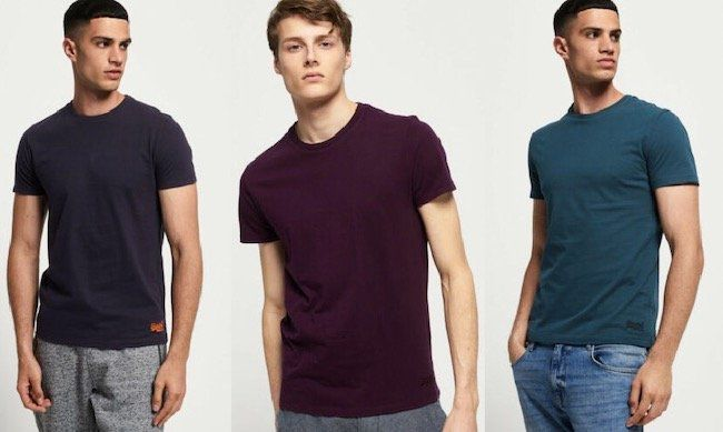Superdry Herren Vintage T Shirt mit Stickerei für 9,95€ (statt 17€)