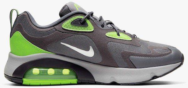Nike Air Max 200 Winter Herren Sneaker in Grau/Neon Grün für 61,23€ (statt 80€)