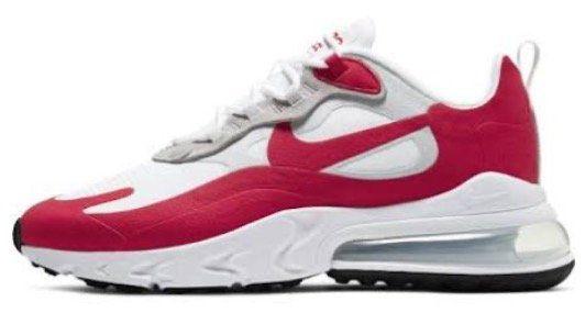 Nike Air Max 270 React Sneaker in Rot für 78,73€ (statt 112€)