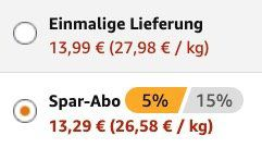 25er Pack Grillido Sportwurst Original für 13,29€ (statt 25€)   Prime