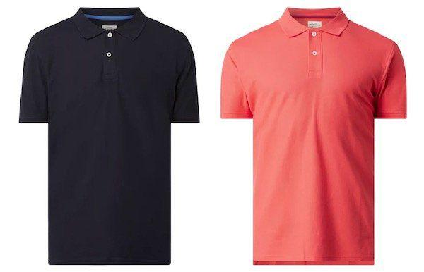 Montego Poloshirt aus Bio Baumwolle in vielen Farben für nur 11,19€