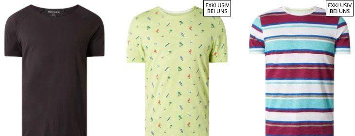 Peek & Cloppenburg*: 30% Aktion mit verschiedenen T Shirts für je nur 6,99€
