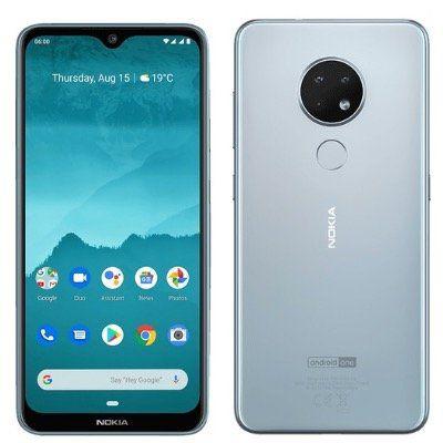 Nokia 6.2 Dual SIM Smartphone 4GB/64GB in Ice mit Android 9 ab 159€ (statt 218€)