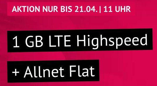 Endlos Telefonie für Oma & Opa? o2 Flat mit 1GB LTE für 4,44€ mtl. + monatlich kündbar