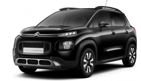 Gewerbe: Citroën C3 Aircross PureTech130 mit 131PS mit HeadUP in Weiss oder Schwarz für 84,99€ brutto mtl.   LF 0,48