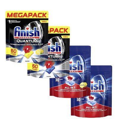 Finish Ultimate Powerball Quantum All In 1 Mixpack mit 180 Tabs für 29,99€ (statt 48€)