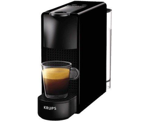 Krups XN1108 Nespresso Essenza Mini für 55€ (statt 69€) + 100 Kaffeekapseln geschenkt