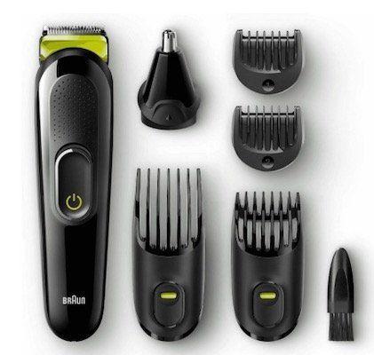 Ausverkauft! Braun MGK 3021 Barttrimmer und Haarschneider für 34,99€ (statt 55€)