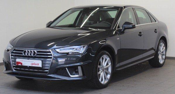 Gebraucht Leasing: Audi A4 Limousine 40 TDI S tronic mit 190 PS für 179€ mtl.   nur bei Inzahlungnahme