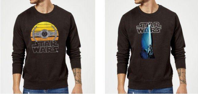 Star Wars Laserschwert Regenschirm + Sweatshirt für 36,99€ (statt 63€)