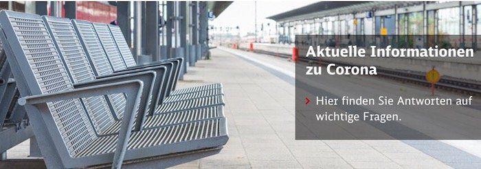 Deutsche Bahn in der Corona Krise   Erstattung für BahnCard Inhaber jetzt möglich