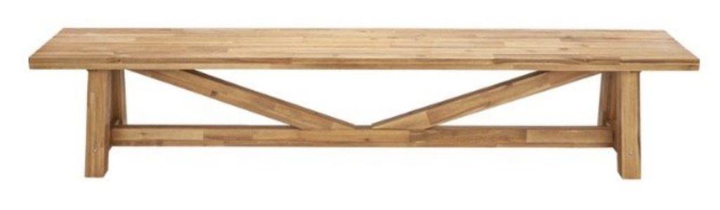 Bessagi Gartenbank Antigua aus Akazienholz für 186,75€ (statt 289€)