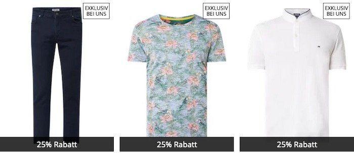 🔥 Peek & Cloppenburg* mit 25% Extra Rabatt auf exklusive Marken   z.B. Polo Shirts oder Shorts für den Frühling!