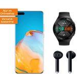 Pricedrop: Huawei P40 Pro 256GB inkl. FreeBuds3 + Watch GT2e für 49€ mit Vodafone Allnet-Flat mit 18GB LTE für 34,99€ mtl.