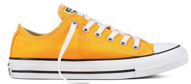 Chuck Taylor All Star Seasonal Color Low Top in Orange für 26,24€ (statt 55€)