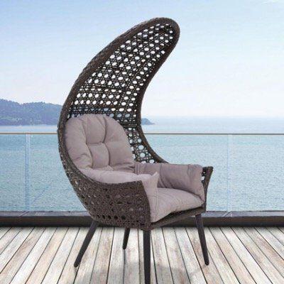 Bessagi Garten Relaxsessel Timi inkl. Sitzkissen für 75€ (statt 100€)