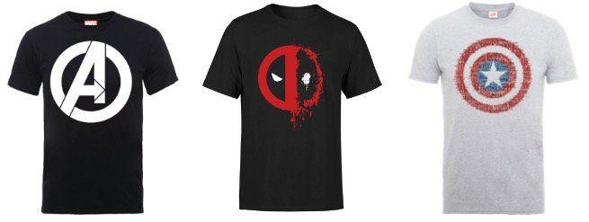 NASA und Marvel T Shirts für Damen und Herren für je 9,99€ (statt 18€)