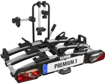 Eufab Premium 3 Fahrrad Kupplungsträger (auch für E Bikes) für 359,17€ (statt 391€)