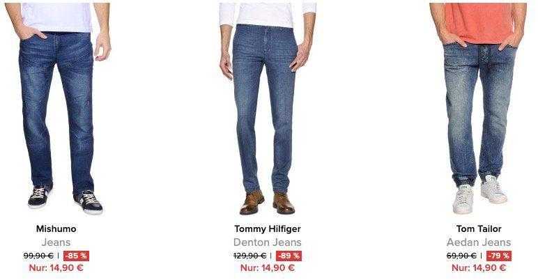 Knaller! Tommy Hilfiger Jeans für 13,41€ (auch andere Marken) + keine VSK   29,90€ MBW!