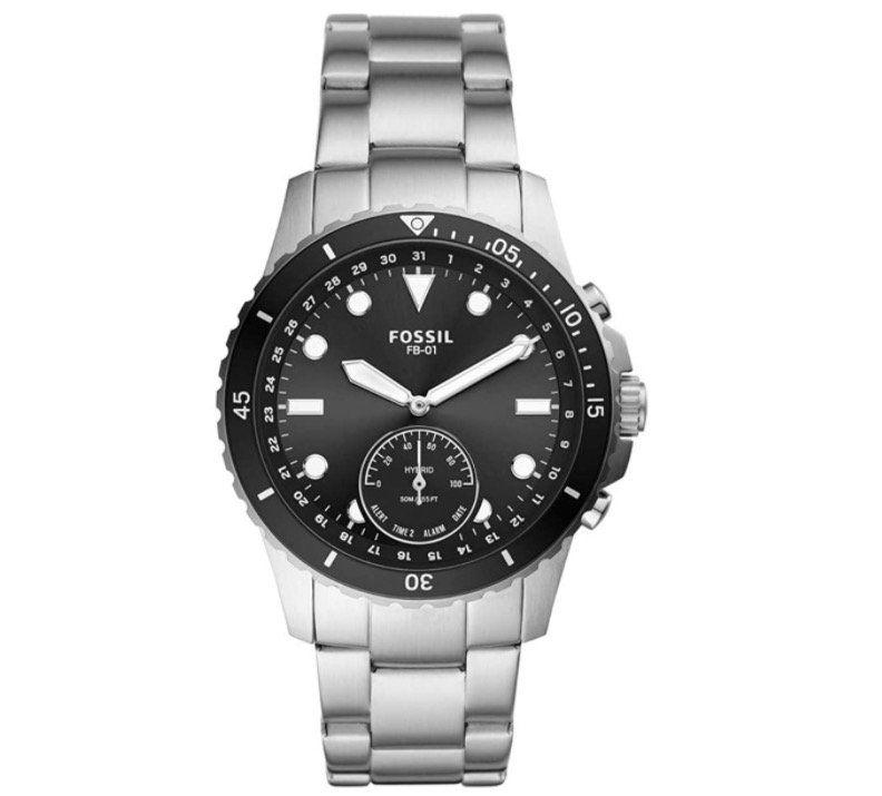 Fossil FTW1197 Smartwatch HR FB 01 mit Edelstahl Armband für 85€ (statt 150€)