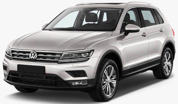 VW Tiguan II 2.0 TDI DSG 4Motion mit 240PS im Gewerbe Leasing für 139€ mtl. netto   LF: 0.34