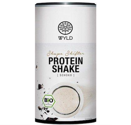 450g WYLD Bio Protein Shake Shape Shifter für 6,47€ (statt 13€)   MHD Ware!