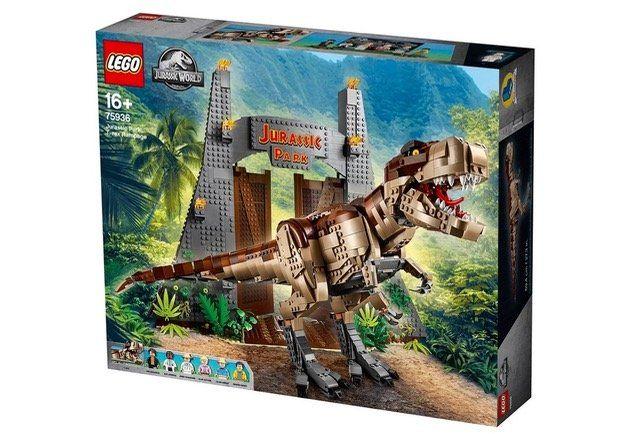 LEGO Jurassic World (75936) Jurassic Park: T. Rex Verwüstung für 182,94€ (statt 225€)