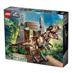 LEGO Jurassic World (75936) Jurassic Park: T. Rex Verwüstung für 199€ (statt 229€)