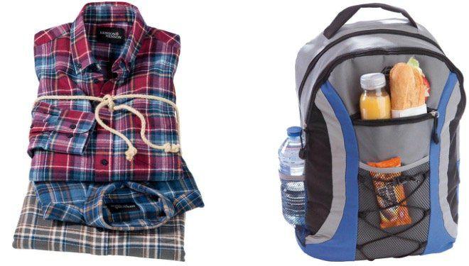 3er Pack Henson&Henson Flanellhemden für 39,99€ (statt 72€) + Nordcap Rucksack mit Kühlfach gratis!