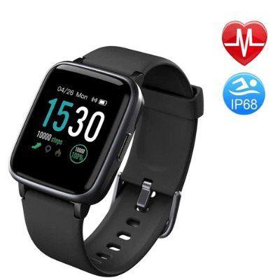 Duang Smartwatch mit FitnessTracker und 1,3 Zoll Farbdisplay wasserdicht IP68 für 20,49€ (statt 41€)