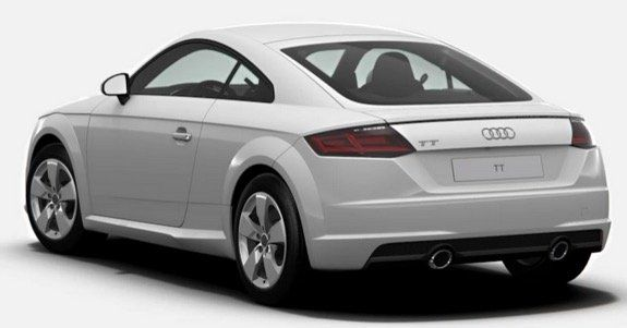 Privat & Gewerbe: Audi TT Coupe 40 TFSI S tronic mit 197PS in Ibisweiß für 239€ inkl. MwSt.   LF 0,71