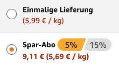 32er Pack Twix Riegel ab 9,11€   Prime