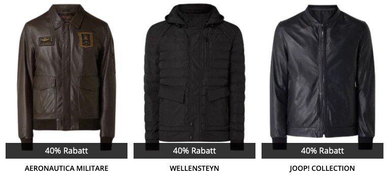 Knaller 🔥 40% Rabatt auf Jacken & Pullover bei Peek & Cloppenburg*   z.B. BOSS Daunen Steppjacke für 149,99€ (statt 250€)