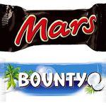 150er Pack Twix Minis, Bounty Minis, Balisto Minis oder Mars Minis ab je 15,95€