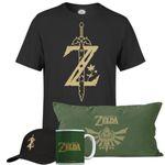 The Legend Of Zelda Ultimate Bundle (Shirt, Kissen, Tasse, Cap) für 34,48€ (statt 55€)