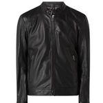JOOP! Collection Lederjacke Peel im Biker-Look in Schwarz für 239,99€ (statt 399€)