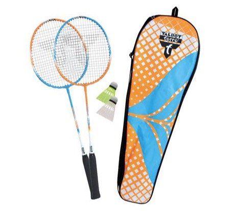 Talbot Torro Badminton Set mit 2 Schlägern + 2 Bällen für 13,99€ (statt 20€)