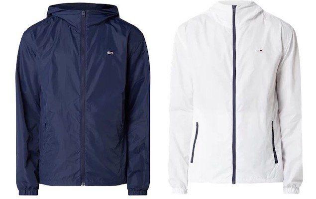 Tommy Jeans Windbreaker in Weiß oder Navy für je 71,99€ (statt 100€)   wenig Größen