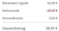 Ellesse Orba Jacke in Schlupf Form für 38,99€ (statt 65€)