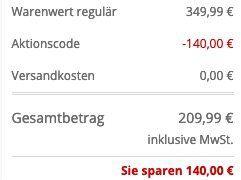HUGO BOSS RegularFit Jacke Barelto mit Reißverschlussblende in Schwarz für 209,99€ (statt 297€)