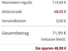 OLYMP Level Five Strickjacke aus Baumwolle mit Kapuze in Blau für 71,99€ (statt 119€)