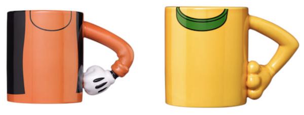 2 Disney Tassen mit Arm Henkel für 15,49€ (statt 28€)